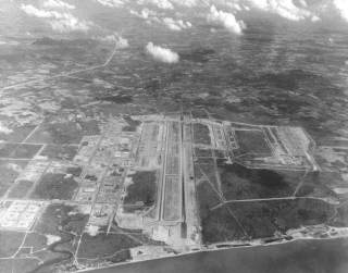 U-Tapao airbase at Sattahip, Thailand. Click for bigger picture.