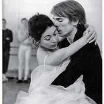 Fonteyn with Nureyev in rehearsal