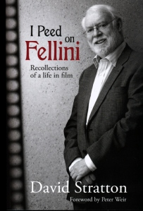 "Cover of ""I Peed On Fellini"" by David Stratton"